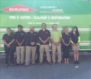 SERVPRO of Beaumont/Banning Crew