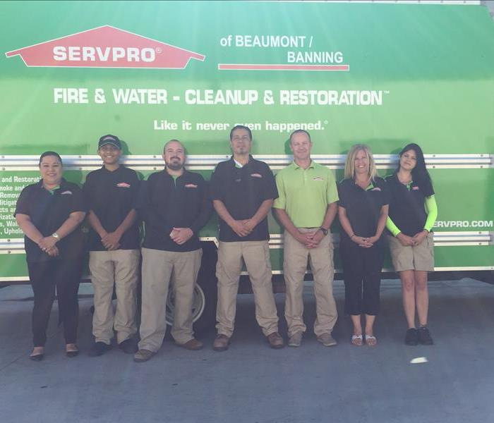 SERVPRO of Beaumont/Banning Crew Photo