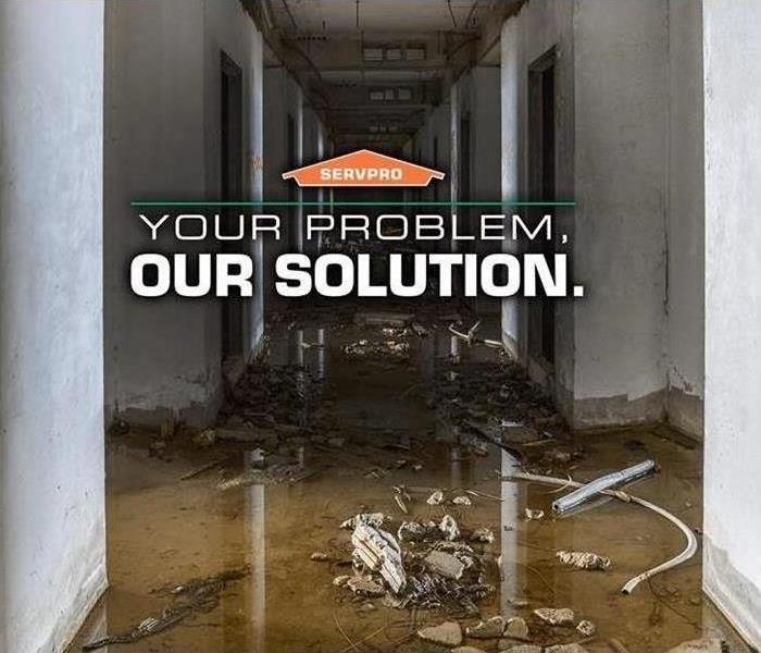 Water Damage Your Problem, Our Solution