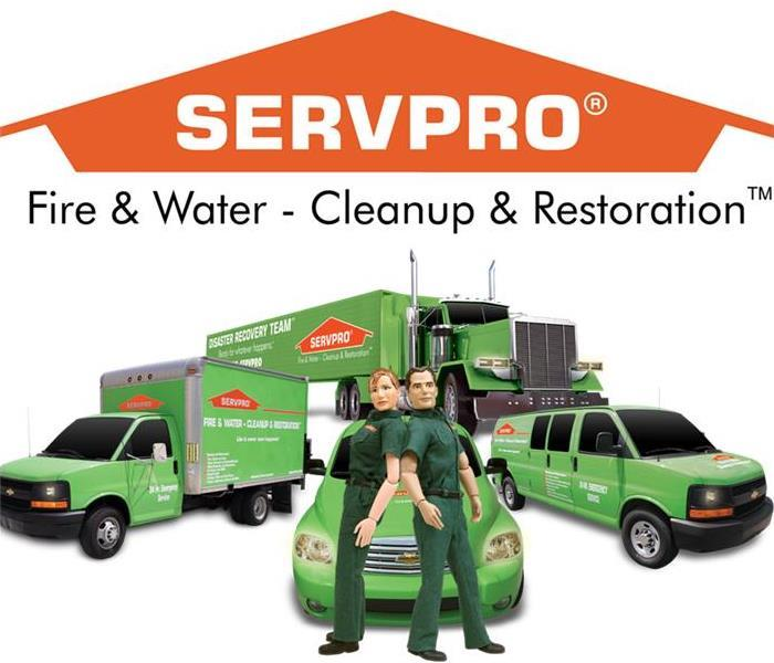 Storm Damage BIG WIND . . . BIG WATER  - SERVPRO IS THERE