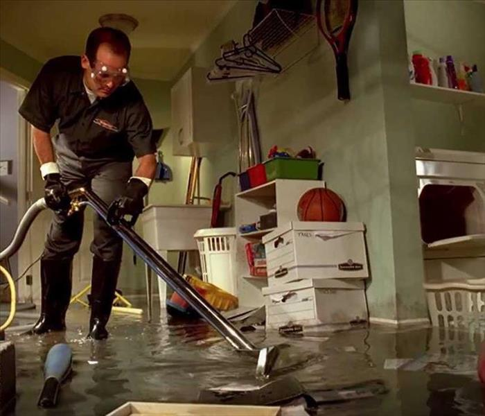 Water Damage  Beaumont, Banning, & Desert Hot Springs Residents: We Specialize in Flooded Basement Cleanup and Restoration!