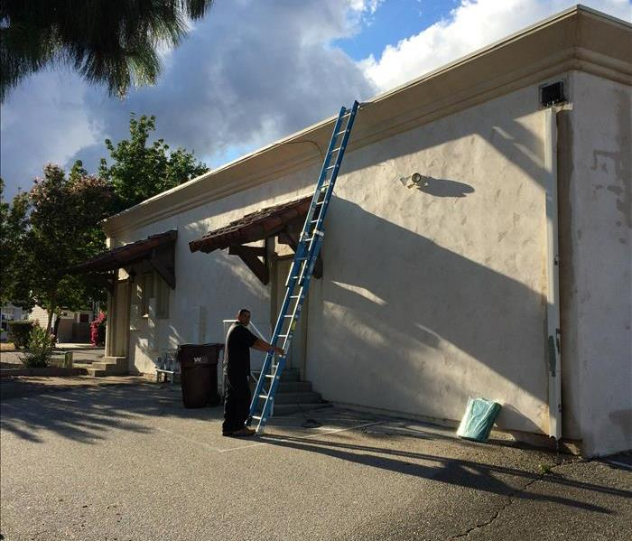 Storm Damage STORMS - are here SERVPRO BEAUMONT BANNING is there